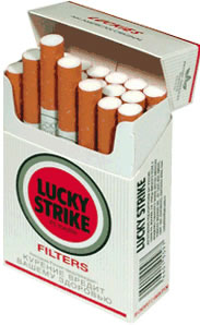 2 x Lucky Strike Original Red