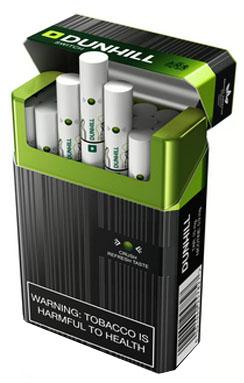 Cigarettes Dunhill success stories